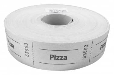 """Rollenbons """"Pizza"""" 1000 Abrisse"""