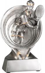 Tennispieler TRY-RS1901 silber