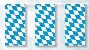 "Fahnenkette ""Bayern"" 5m lang"
