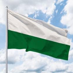 Sachsen-Hissflagge Quer ohne Wappen (Streifen)