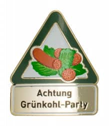 Achtung Grünkohl-Party