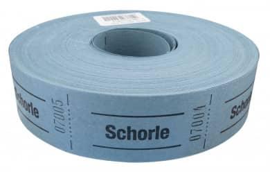 "Rollenbons ""Schorle"" 1000 Abrisse"