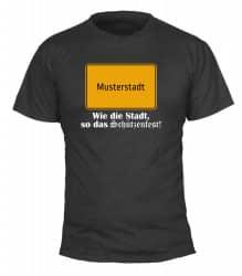 "T-Shirt ""Wie die Stadt"" - Herren"