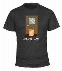 """T-Shirt """"Für Oma & Opa"""" - Herren"""