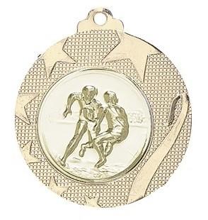 Medaille Iraklio Ø 50mm mit Wunschemblem und Band