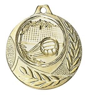 Medaille Arezzo Ø 40mm mit Wunschemblem und Band