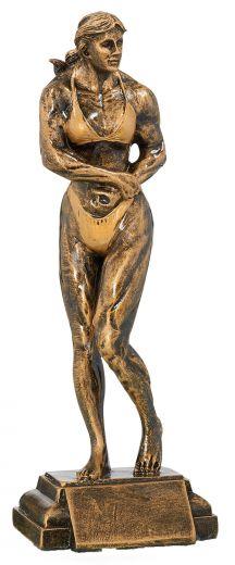 Trophäe Bodybuilderin FS52702 bronze