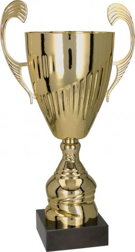 Pokale mit Henkel 5er Serie TRY7098 gold