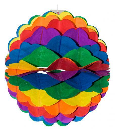 Wabenball Regenbogen