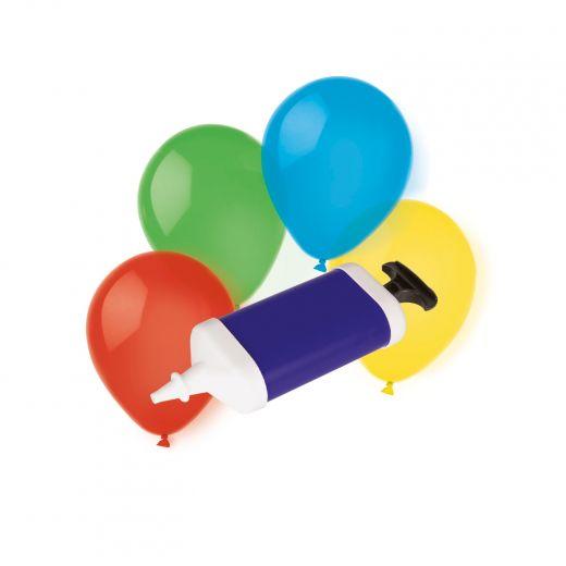 Luftballons (10 Stk.) mit Pumpe