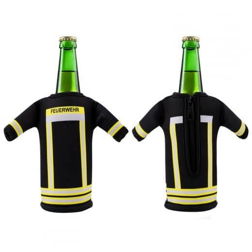 """Bottelshirt Flaschenkühler """"Feuerwehr"""" Flaschenanzug"""