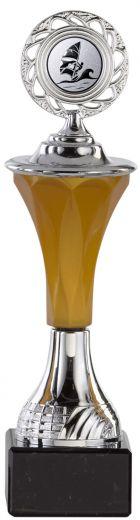 Pokale 6er Serie A295 silber-gold mit Deckel