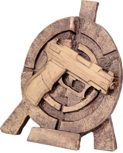 Schützenpokal Pistole TRY-RTY2065 bronze