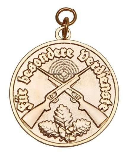 Medaille - Für besondere Verdienste gold