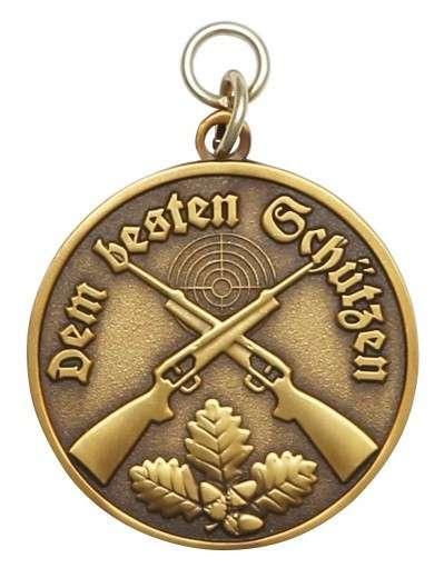 Medaille - Dem besten Schützen bronze
