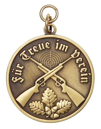 Medaille - Für Treue im Verein bronze