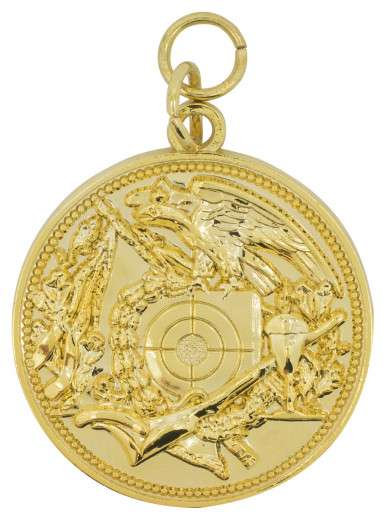 Schützenmedaille 12 gold