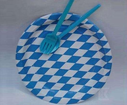Bayern-Pappteller 10 Stück