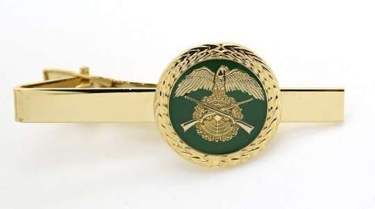 Krawattenklammer gold mit Wunschmotiv