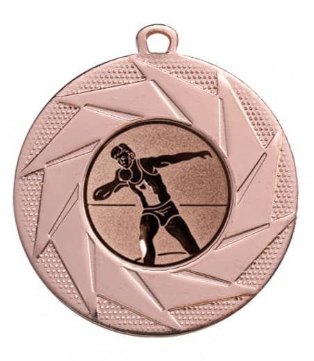 """Medaille """"Briareos"""" Ø 50 mm inkl. Wunschemblem und Kordel bronze"""