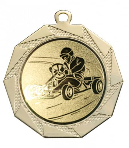 """Medaille """"Kottos"""" Ø 70 mm inkl. Wunschemblem und Kordel gold"""