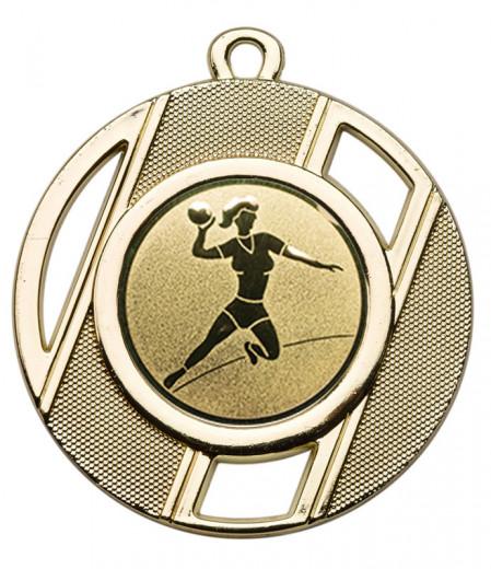 "Medaille ""Thanatos"" Ø 50 mm inkl. Wunschemblem und Kordel gold"