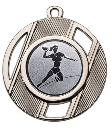 "Medaille ""Thanatos"" Ø 50 mm inkl. Wunschemblem und Kordel silber"