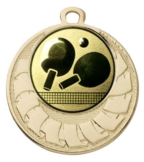 """Medaille """"Eris"""" Ø 40 mm inkl. Wunschemblem und Kordel gold"""