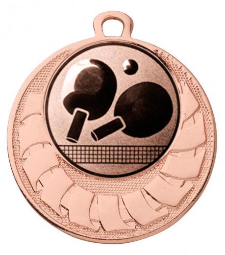 """Medaille """"Eris"""" Ø 40 mm inkl. Wunschemblem und Kordel bronze"""