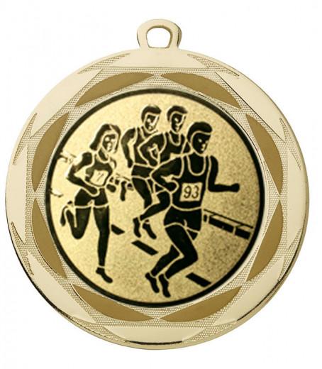 "Medaille ""Lachesis"" Ø 70 mm inkl. Wunschemblem und Kordel gold"