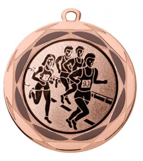 """Medaille """"Lachesis"""" Ø 70 mm inkl. Wunschemblem und Kordel bronze"""