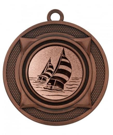 """Medaille """"Nereus"""" Ø 50 mm inkl. Wunschemblem und Kordel bronze"""