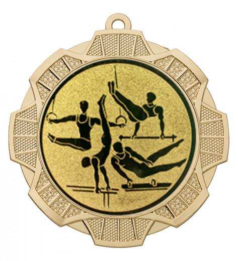 "Medaille ""Thaumas"" Ø 70 mm inkl. Wunschemblem und Kordel gold"