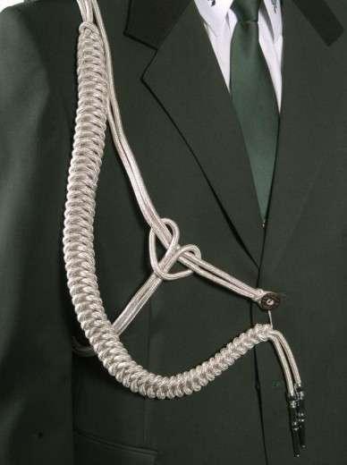 Fangschnur 1 Breitgeflecht silber