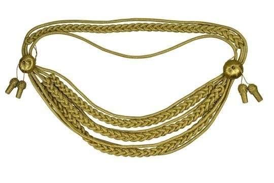Königsschnur  (gold oder silber) gold