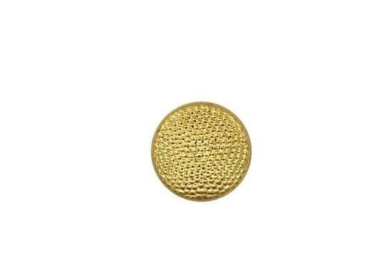 Uniformknopf 12 mm gekörnt gold