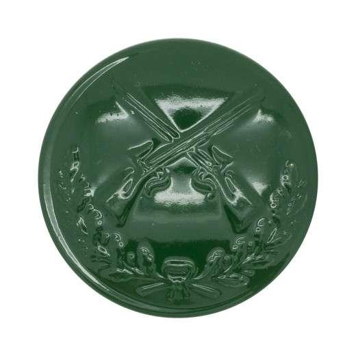Schützenknopf 24mm mit Öse grün