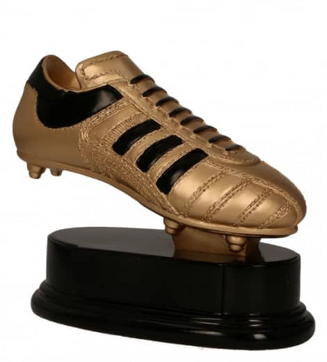 Fußballschuh TRY-RF1010-G altgold mit schwarz