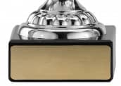 Pokale mit Henkel 4er Serie A315 silber 15 cm