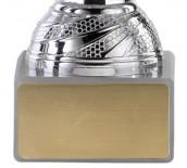 Pokale 6er Serie S150 silber/rot 16 cm
