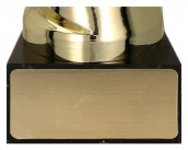Pokale mit Henkel 5er Serie TRY7098 gold 26 cm