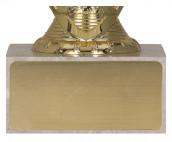 Pokale 3er Serie TRY9077 gold 13,5 cm
