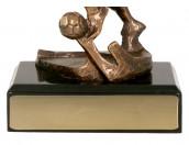 Fußballer Figur TRY-RTY1321-BR bronze