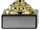 Pokale mit Henkel 4er Serie A305 gold 15 cm