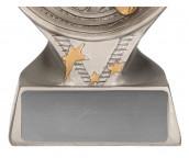 Rs1201(1) Feuerwehr Pokale Feuerwehrmann TRY-RS120 silber 13 cm