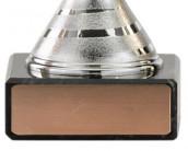 Fußball-Pokale 3er Serie A104 silber