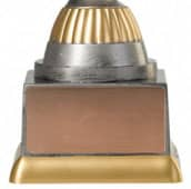 Pf233 M610 Angelpokale Angelpokal PF233-M61 altsilber/gold 15,8 cm