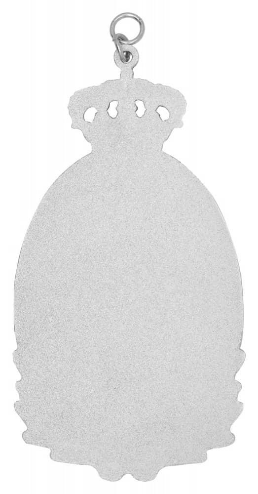 Königsschild 7 silber