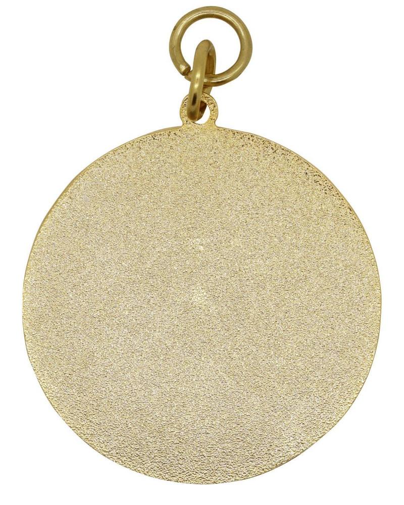 Medaille gold-blau