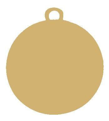 "Medaille ""Chalkis"" Ø 45 mm inkl. Wunschemblem und Kordel gold"